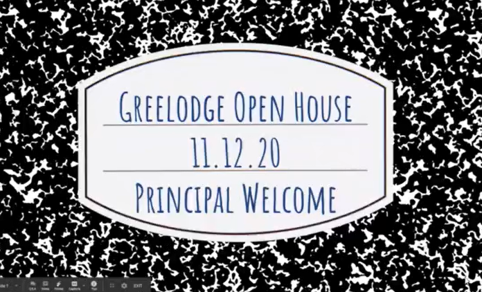 Open House Principal Bodkins' Welcome (click to view)