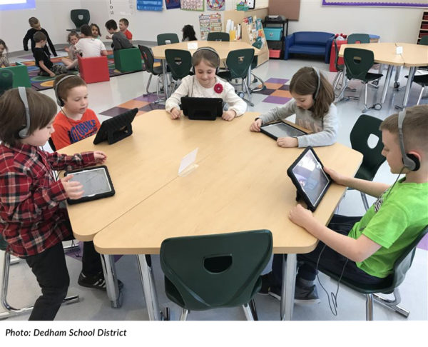 Dedham Recognized for Digital Learning