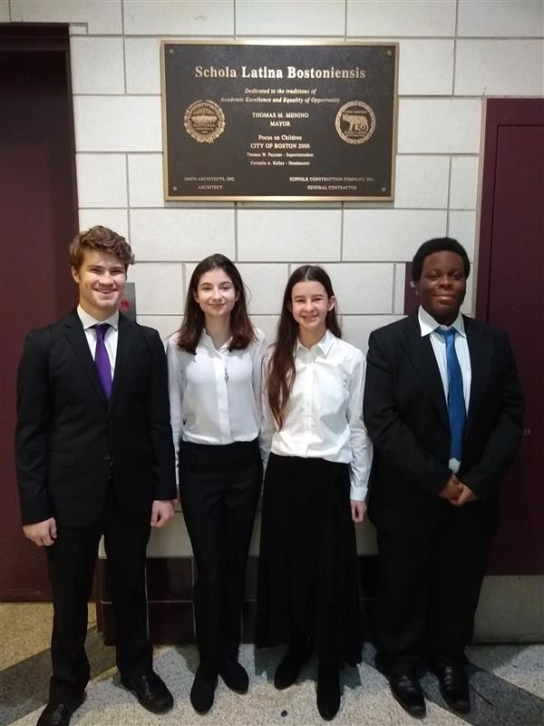 Excelling in Music:  Dedham HS Students at Eastern District Senior Music Festival