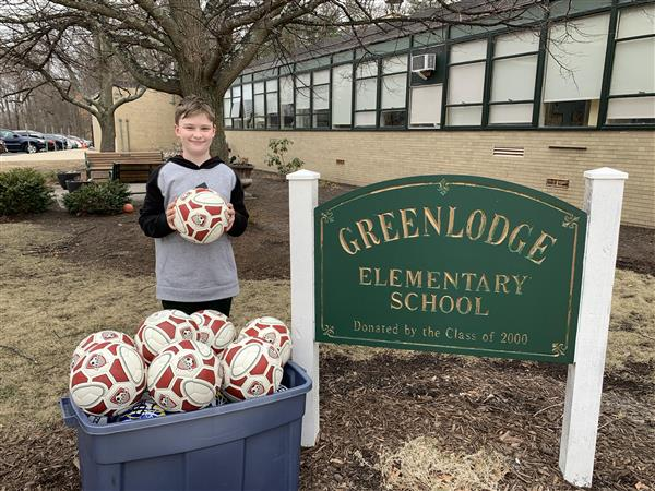 Student Spotlight:  Jack Y 4th Grader at Greenlodge